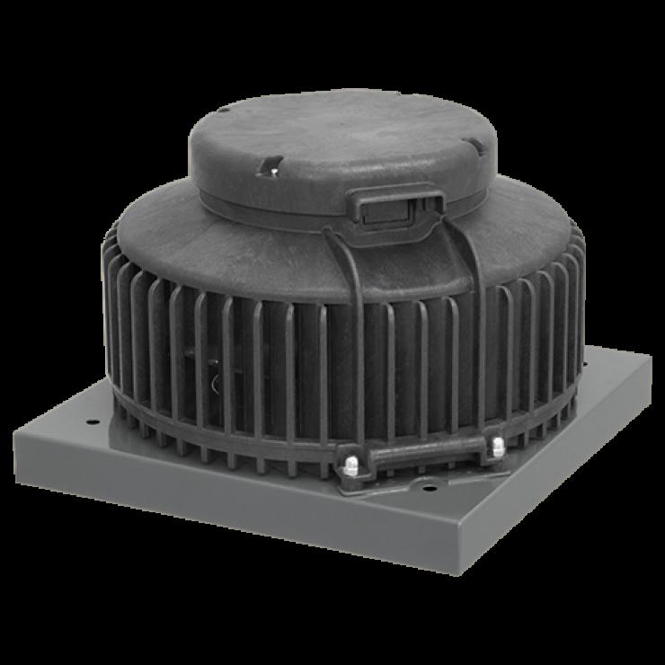 Вентиляторы крышные DHA пластмас