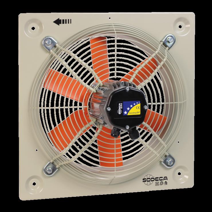 Вентилятори осьові HEP, HEPT