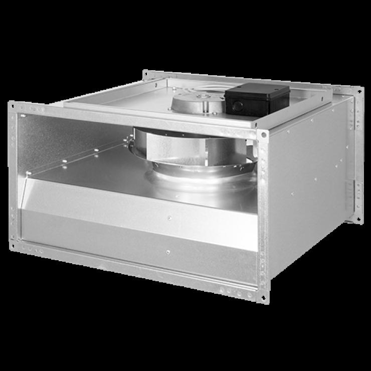 Вентиляторы канальные для прямоугольных воздуховодов KVR...EC