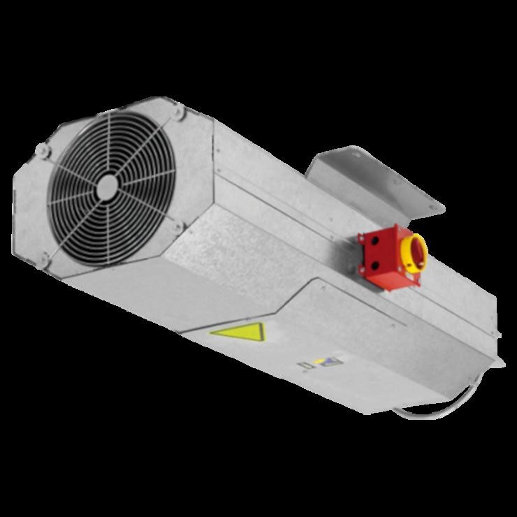 Вентиляторы дымоудаления THT/IMP