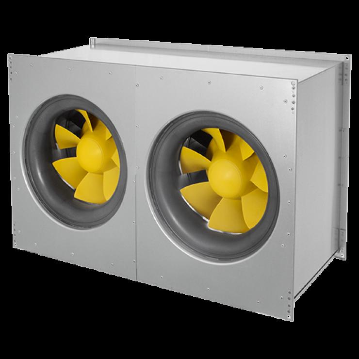 Вентиляторы канальные для прямоугольных воздуховодов EMKI...EC