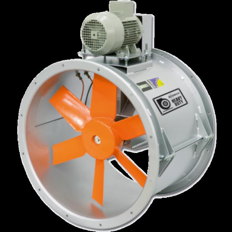 Промышленные вентиляторы HPX/SEC