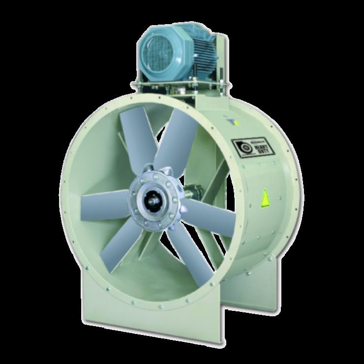 Вентилятори осьові HGTX