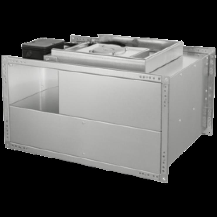 Вентиляторы канальные для прямоугольных воздуховодов KVT